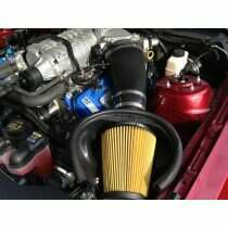 JLT 2010-2014 Shelby GT500 Induction Kit (Black Textured Plastic)