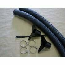 JLT 2007-2009 Shelby GT500 Brake Cooling Kit with Billet Aluminum Grille Bezels (Black Anodized)