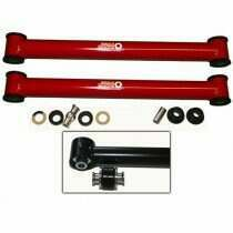 J&M 05-2014 Mustang Street/Race Extreme Joint Lower Control Arms (Red)