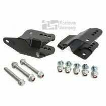 Maximum Motorsports 05-2014 Mustang Rear Lower Control Arm Relocation Brackets