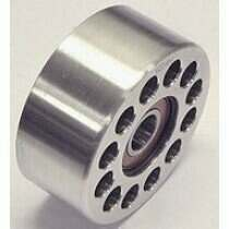 Thump Racing Double Bearing 76mm Billet Aluminum Idler Pulley
