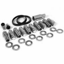 Race Star Industries Closed End Lug Nut Kit for Direct Drilled Wheels (Half Kit)