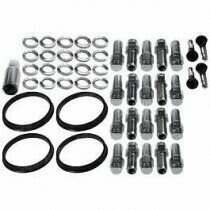 Race Star Industries Open End Lug Nut Kit for Direct Drilled Wheels (Full Kit)