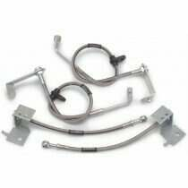 Russell 05-2014 Mustang Stainless Steel Braided Brake Lines (ABS equipped cars only)