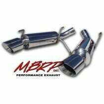 MBRP 05-2010 Mustang GT / GT500 T-304 Stainless Dual Muffler Axle Back