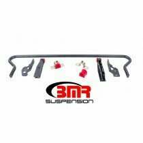BMR 05-2014 Mustang 25mm Hollow Adjustable Rear Sway Bar Kit (Black Hammertone)