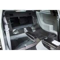 TruCarbon 2005-2014 Mustang Carbon Fiber LG123 Rear Seat Delete