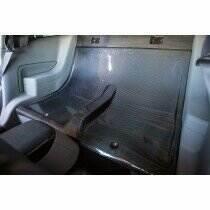 TruCarbon 2005-2014 Mustang Carbon Fiber LG124 Rear Seat Delete