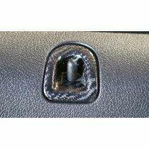 TruCarbon 2005-2014 Mustang Carbon Fiber LG83 Door Lock Inserts
