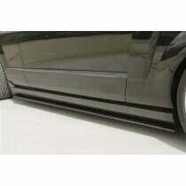 TruCarbon 2005-2009 Mustang Carbon Fiber LG109 Side Skirt Splitters