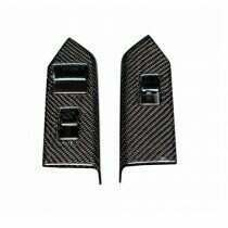 TruCarbon 2010-2014 Mustang CONVERTIBLE Carbon Fiber LG126 Window Switch Covers