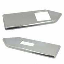 UPR 2010-2014 Mustang Billet Hardtop Window Switch Plates (Satin)