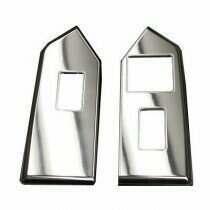 UPR 2010-2014 Mustang Billet Vert Window Switch Plates (Polished)