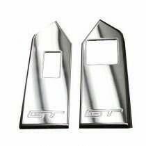 UPR 2010-2014 Mustang Billet Hardtop Window Switch Plates GT (Polished)