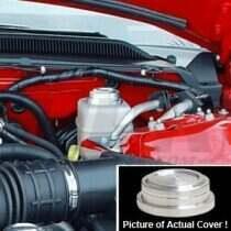 UPR Mustang Billet Satin Brake Fluid Cap Cover (05-2014 Mustang V6 & GT ; 2007-2009 Shelby GT500)
