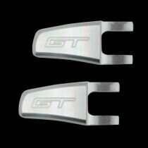 UPR 07-10 Mustang Billet Seat Release Lever GT Logo