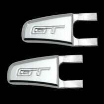 UPR 07-10 Mustang Billet Seat Release Lever GT Logo (Polished)