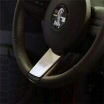 UPR 05-09 Mustang Billet Steering Wheel Badge (Polished)