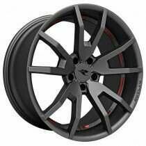 "CDC 2005-2018 Mustang 20"" x 9"" Outlaw Wheel (Satin Gunsmoke)"