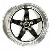 """Weld Racing 07-2014 Mustang 18x7"""" S71 RT-S Front Wheel for OEM Brembo's (Black)"""