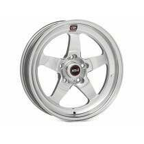 """Weld Racing 07-2014 Mustang 18x7"""" S71 RT-S Front Wheel for OEM Brembo's (Polished)"""