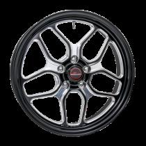 "Billet Specialties RSFB28509021N Win Lite - 18x5"" Drag Pack Front Wheel (Challenger / Charger  / Hellcat / Magnum SRT8)"