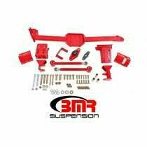 BMR 05-2014 Mustang Watts Link with Poly/Rod Ends (Red)