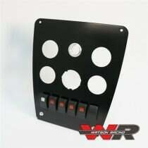 Watson Racing 2010-2014 Mustang Center Stack Gauge / Switch Panel with Switches