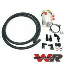 Watson Racing 2005-2017 S550 - S197 Mustang Catch Can / Breather Kit - Sealed Top