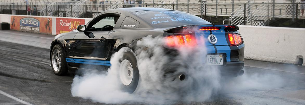 Lethal Performance Ford SVT 2010 GT500 performance burnout